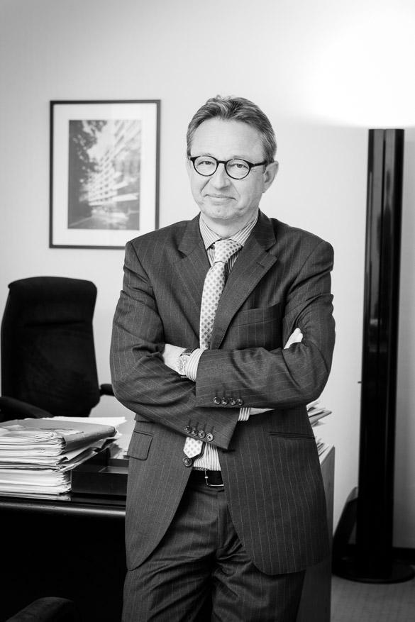 Arnaud de Jamblinne du fonds immobilier La Foncière souriant