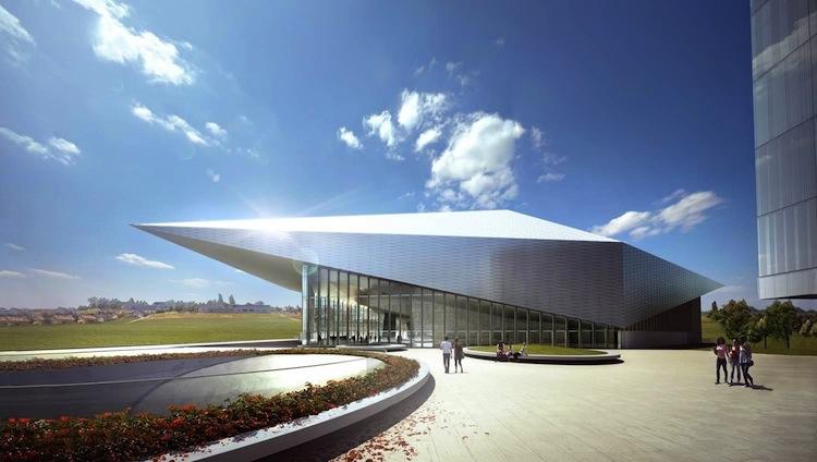 Nouveau Centre de Conférence de l'EPFL